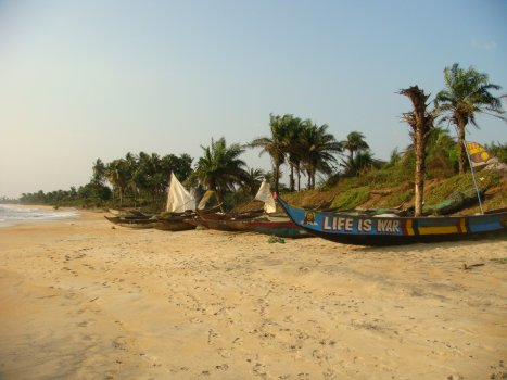 World Travel Photos :: Liberia - Monrovia :: Beach @ Monrovia,Liberia