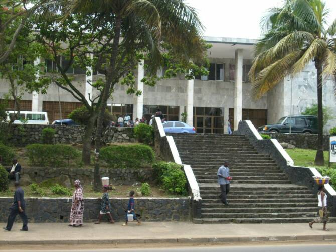 World Travel Photos :: Liberia - Monrovia :: City Hall @ Monrovia,Liberia
