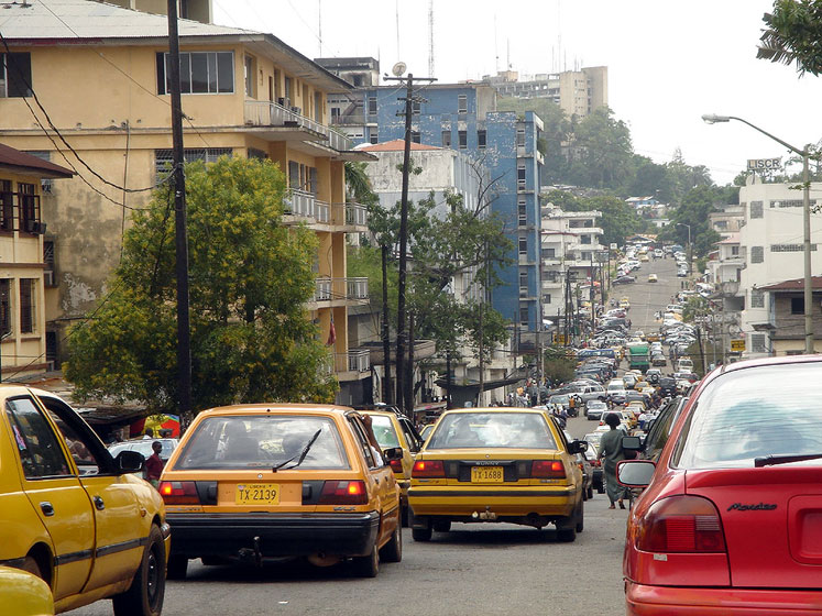 World Travel Photos :: Liberia - Monrovia :: Downtown Monrovia   Liberia,West Africa