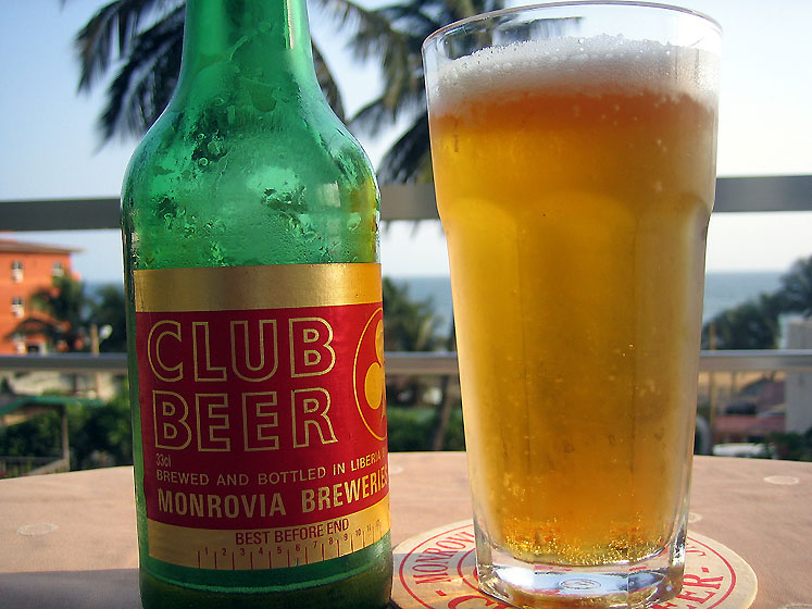 World Travel Photos :: Liberia - Monrovia :: Liberian Beer   Monrovia, Liberia