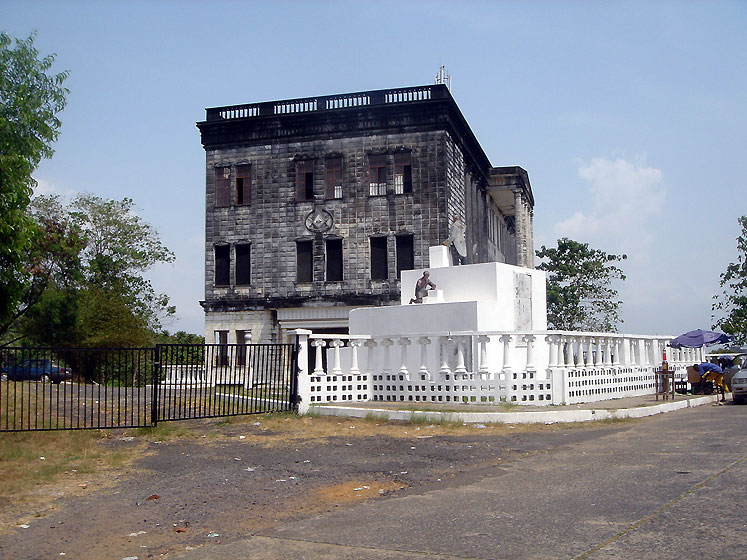 World Travel Photos :: Liberia - Monrovia :: Older Building @ Monrovia, Liberia