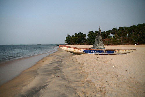 World Travel Photos :: Liberia - Misc :: Beach @ Roberts Port  Liberia,West Africa