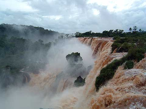 World Travel Photos :: Argentina - Iguasu Waterfalls :: Argentina. Iguazu Falls