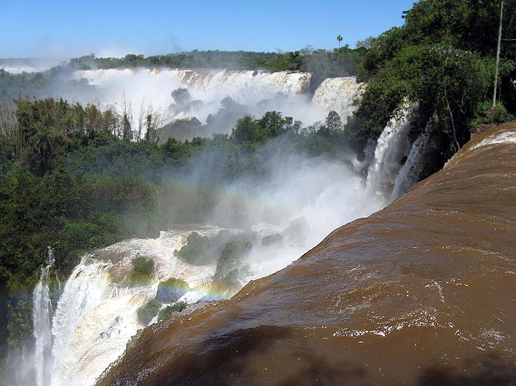 World Travel Photos :: UNESCO World Heritage Sites :: Argentina. Iguasu Falls - UNESCO World Heritage Site