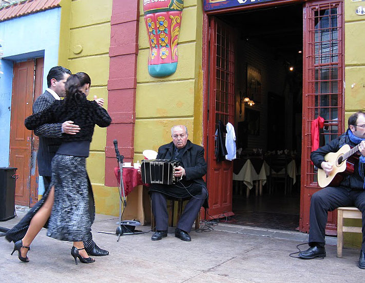 World Travel Photos :: Argentina - Misc :: Argentina - tango on the street