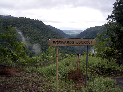 World Travel Photos :: Australia :: Australia. Forwards lookout