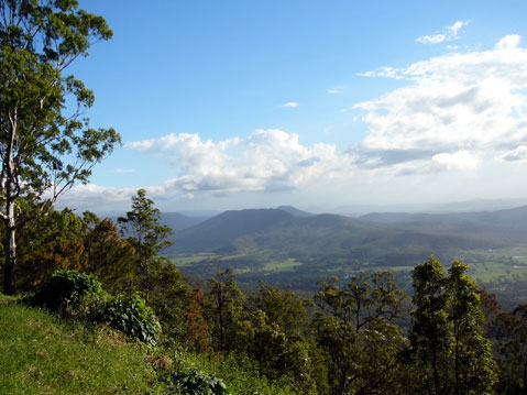World Travel Photos :: Panoramic views :: Australia. View from the Tambourine mountain