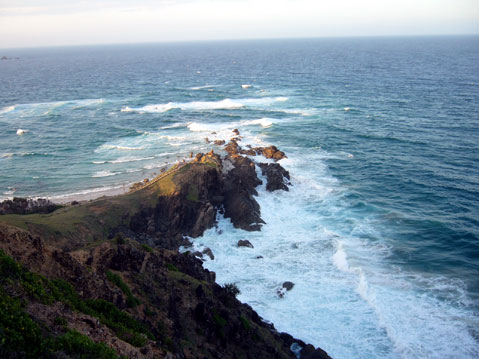 World Travel Photos :: Ocean :: The most eastern point of Australia
