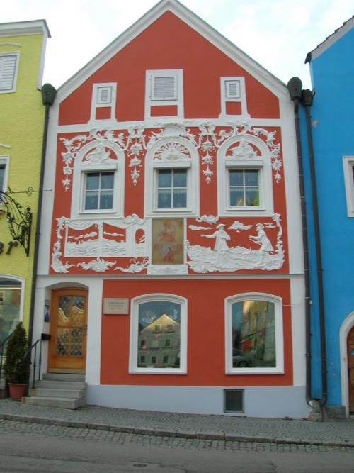 World Travel Photos :: Small towns :: House in Obernberg