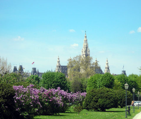 World Travel Photos :: Parks :: Vienna - City Hall