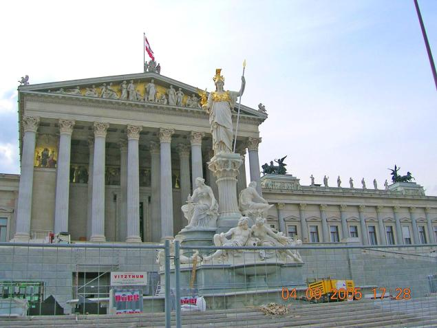 World Travel Photos :: Galochka99 :: Vienna. Austrian Parliament