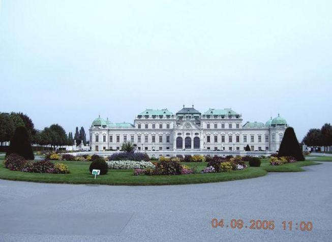 World Travel Photos :: Palaces & cathedrals :: Vienna. Belveder Palace