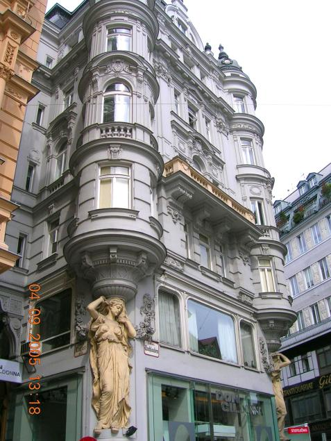 World Travel Photos :: City views :: Vienna. Caryatid