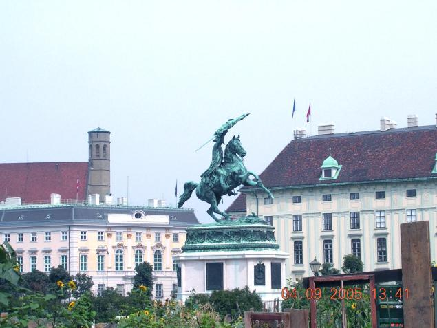 World Travel Photos :: Galochka99 :: Vienna. Hofburg Palace