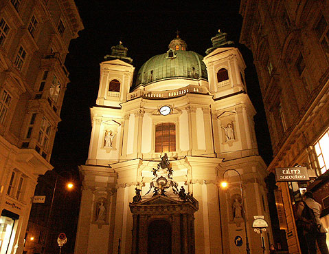 World Travel Photos :: Austria - Vienna :: Vienna. St. Peter´s Cathedral