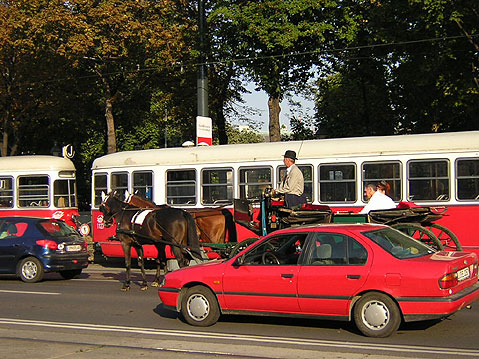 World Travel Photos :: Austria - Vienna :: Vienna. Whinch kind of transportation do you prefer?