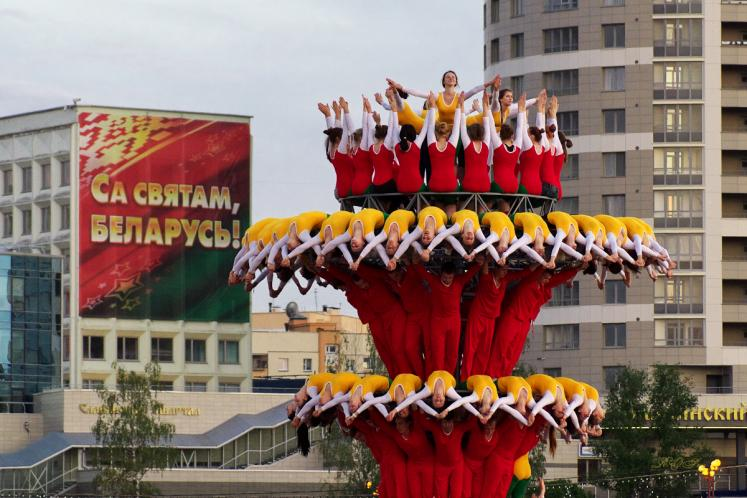 World Travel Photos :: Belarus - Minsk :: Minsk, Belarus - a rehearsal a day before the Independence Day parade