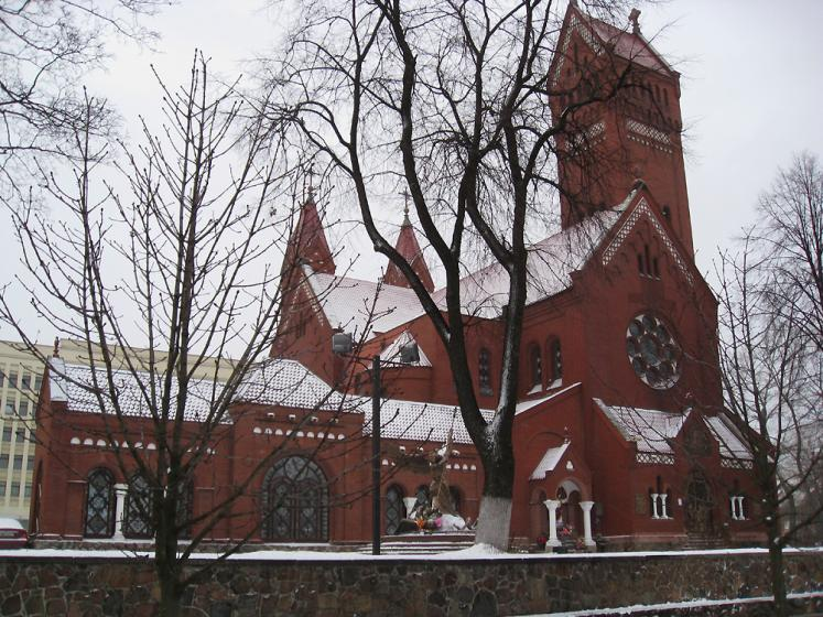 World Travel Photos :: Ani Lerkova :: Belarus, Minsk, Church of St. Simon and Elena