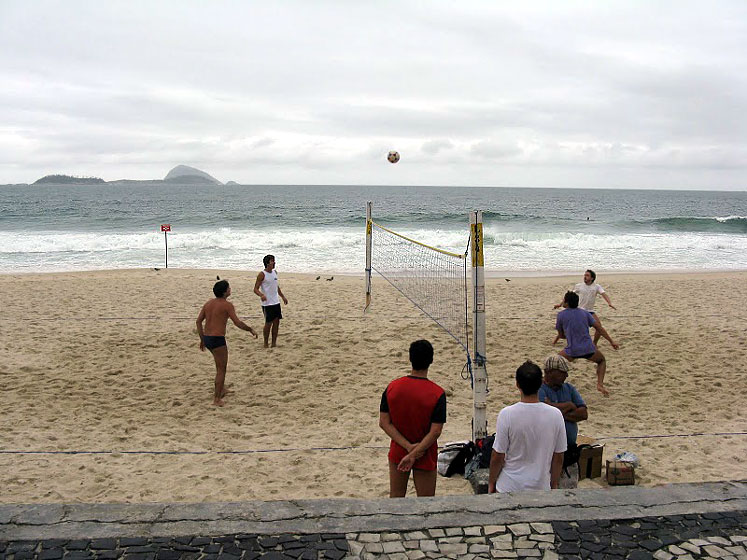 World Travel Photos :: Brazil - Misc :: Rio-De-Janeiro - on the beach