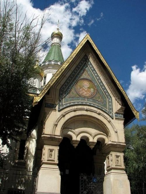 World Travel Photos :: Bulgaria :: Bulgaria. Sofia. Russian St. Nicholas church