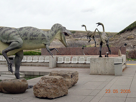 World Travel Photos :: Canada - Alberta - Misc :: Alberta. Royal Tyrrell Museum in Drumheller