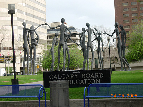 World Travel Photos :: Canada - Alberta - Calgary :: Calgary. Outside of Board of Education