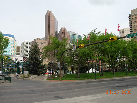 World Travel Photos :: Canada - Alberta - Calgary :: Calgary. View on Downtown