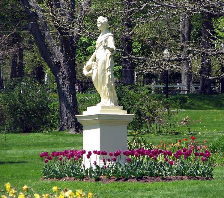 World Travel Photos :: Canada - Nova Scotia - Halifax :: Halifax. Public Gardens