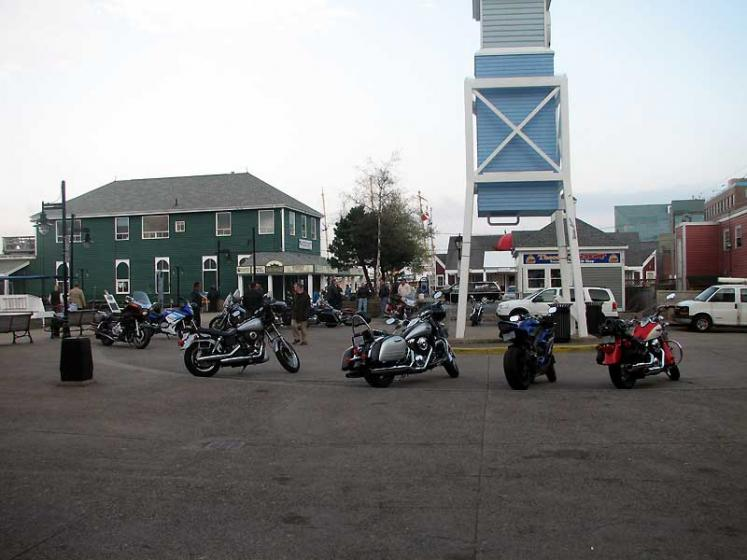 World Travel Photos :: Canada - Nova Scotia - Halifax :: Halifax - a meeting place of local bikers