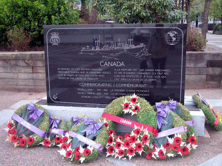 World Travel Photos :: Military Theme :: Halifax - a memorial for the heroes of World War I and II - Canadian seamen