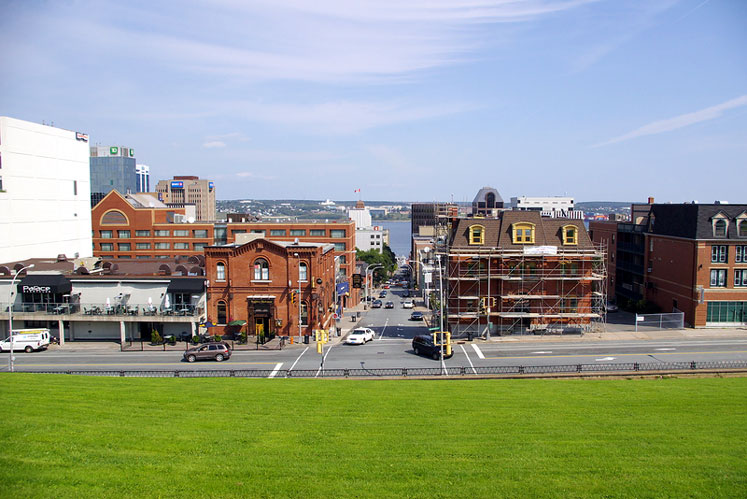 World Travel Photos :: Canada - Nova Scotia - Halifax :: Halifax - a view from the Citadel