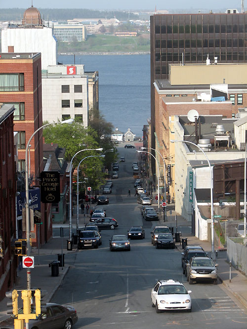 World Travel Photos :: Canada - Nova Scotia - Halifax :: Halifax - a way to the waterfront