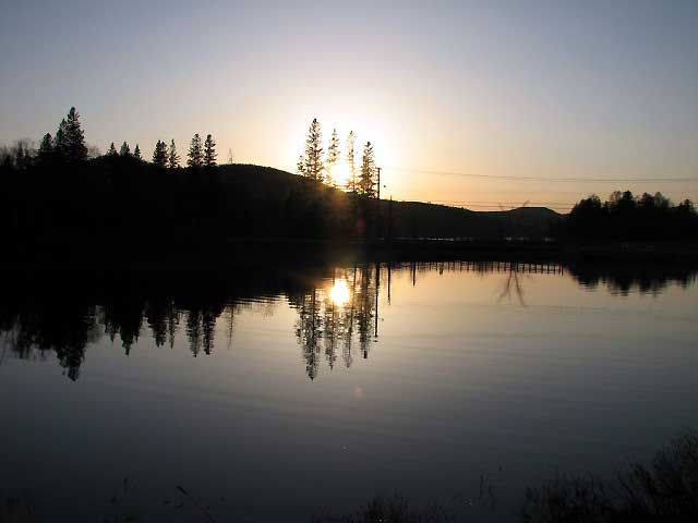 World Travel Photos :: Serenity :: Quebec. Sunset in Parc du Mont-Tremblant