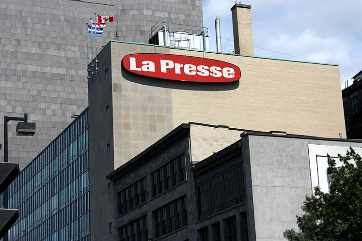 World Travel Photos :: Canada - Quebec - Montreal :: Montreal. La Presse building