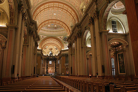 World Travel Photos :: Canada - Quebec - Montreal :: Montreal. Mary, Queen of the World Cathedral