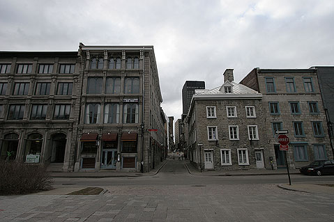 World Travel Photos :: RomKri :: Montreal. Old Montreal street