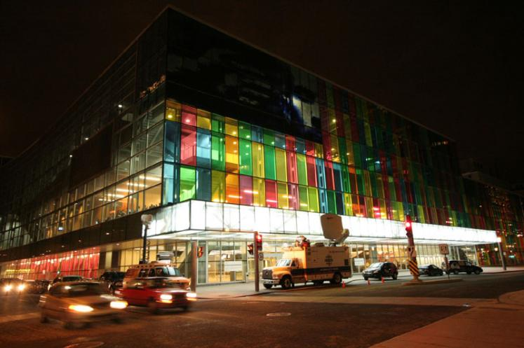World Travel Photos :: Interesting unusual buildings :: Montreal. Palais des Congres