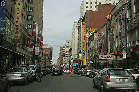 World Travel Photos :: Canada - Quebec - Montreal :: Montreal. Shopping district