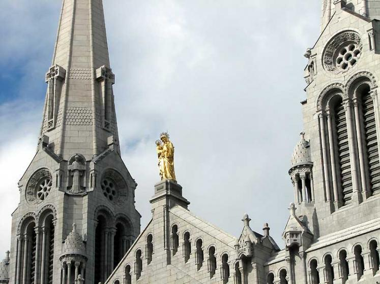 World Travel Photos :: Churches :: Basilica of Sainte-Anne-de-Beaupré