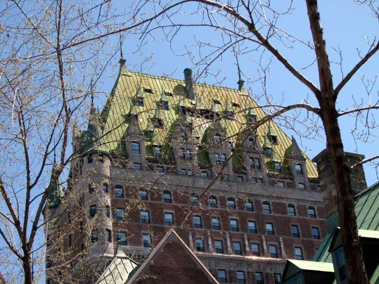 World Travel Photos :: Fairmont Le Chateau Frontenac :: Quebec City. Fairmont Le Chateau Frontenac