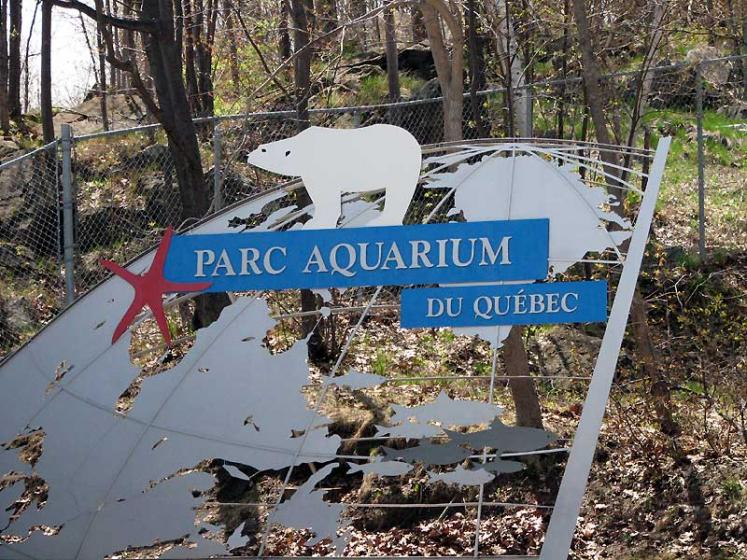 World Travel Photos :: Aquarium :: Quebec City. Parc Aquarium