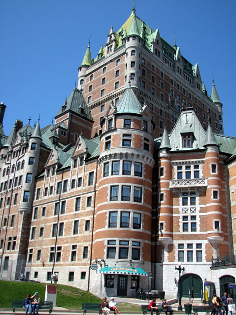 World Travel Photos :: Fairmont Le Chateau Frontenac :: Quebec City. Fairmont Le Château Frontenac