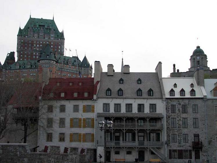 World Travel Photos :: UNESCO World Heritage Sites :: Quebec City. Historic city center - UNESCO World Heritage Site
