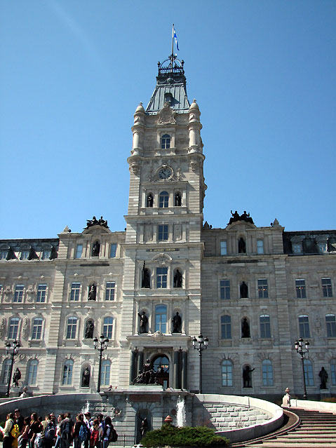 World Travel Photos :: Parliament building :: Quebec City. Quebec Parliament Building