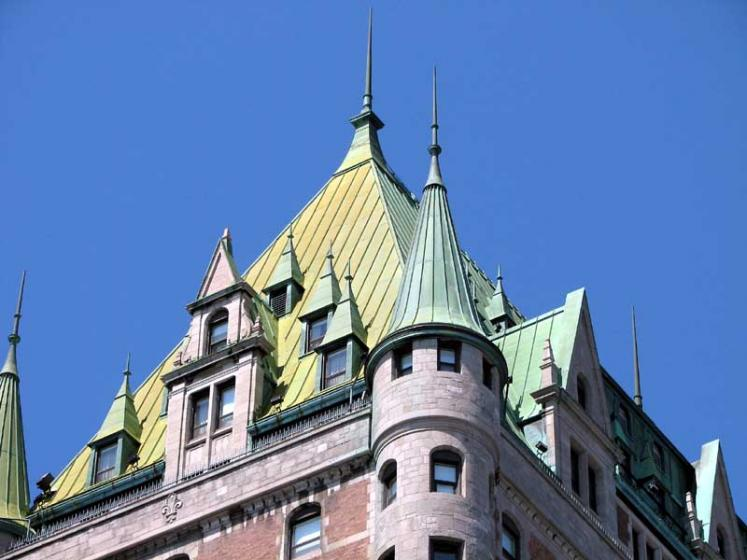 World Travel Photos :: Fairmont Le Chateau Frontenac :: Quebec City. The Château Frontenac