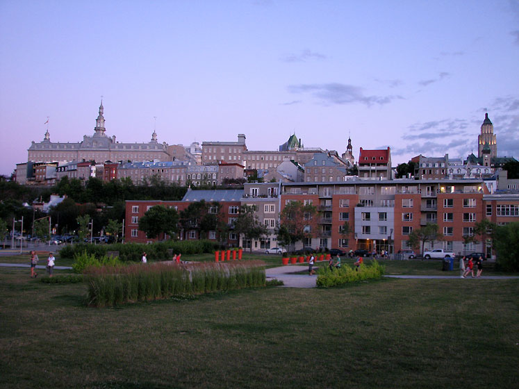 World Travel Photos :: Canada - Quebec - Quebec City :: Quebec City- twilight