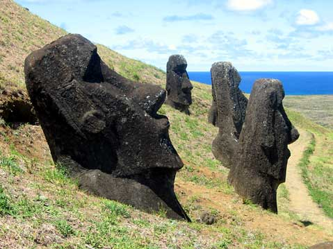 World Travel Photos :: UNESCO World Heritage Sites :: Easter Island - UNESCO World Heritage Site