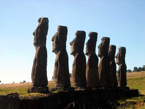 World Travel Photos :: Serenity :: Easter Island. Moai