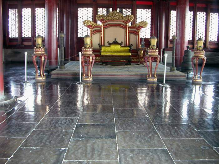 World Travel Photos :: Moshe Kohavi :: Beijing. The throne