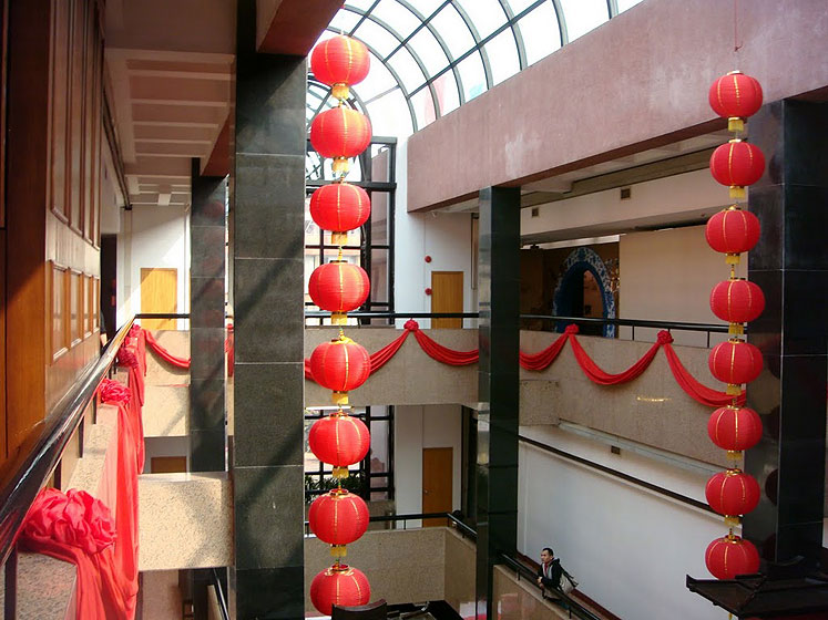 World Travel Photos :: Polin :: Guangzhou - Chinese New Year decorations